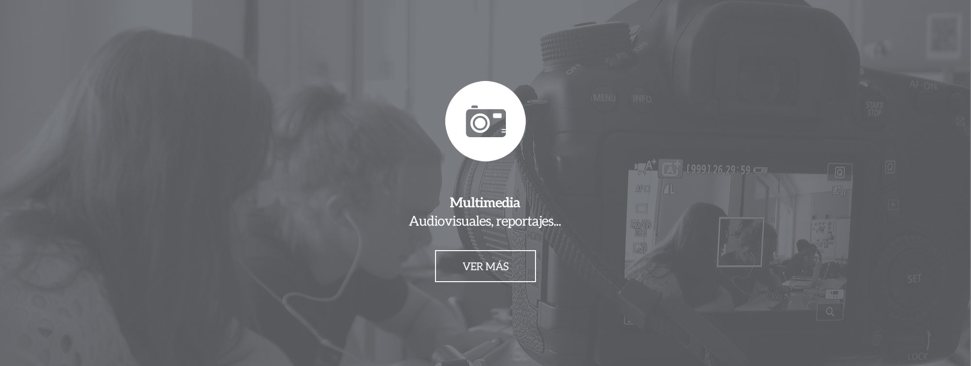Multimedia: audiovisuales, reportajes, ...